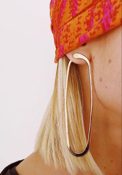 Boucles d'oreilles Hyperboles Grand modèle