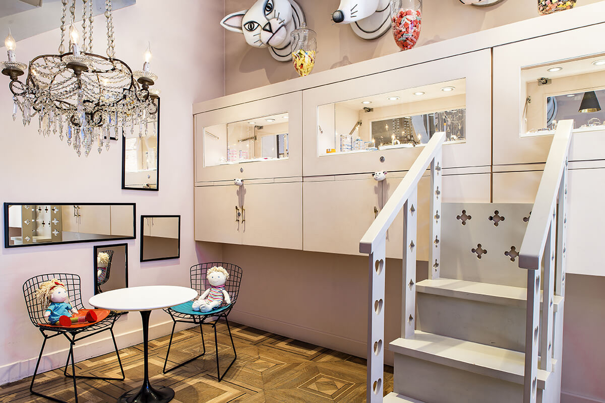A new shop in Toulouse opens and is entirely dedicated to children.